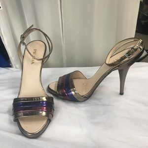 Gorgeous and groovy Prada sandals